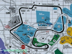 Buell Inside Pass Track Day - Laguna Seca Track Map