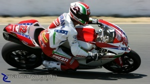 2009 Infineon AMA - American Superbike - Larry Pegram Turn 10