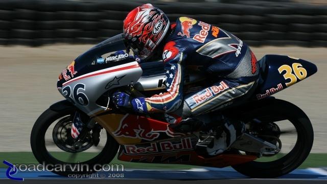 2008 AMA Finale - Leandro Mercado - Racing to Win