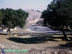 Laguna Seca - A Look Back - Looking Down the Corkscrew Then