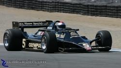 2008  Rolex Monterey Historic Races - Mario Andretti Lotus 79 - Turn 3 (I)