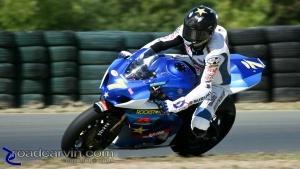 2009 Infineon AMA - American Superbike - Mat Mladin Turn 8