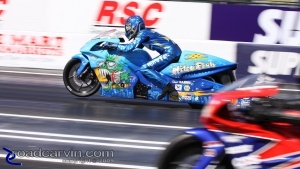 2009 Fram Autolite NHRA Nationals - Matt Smith Wheelie