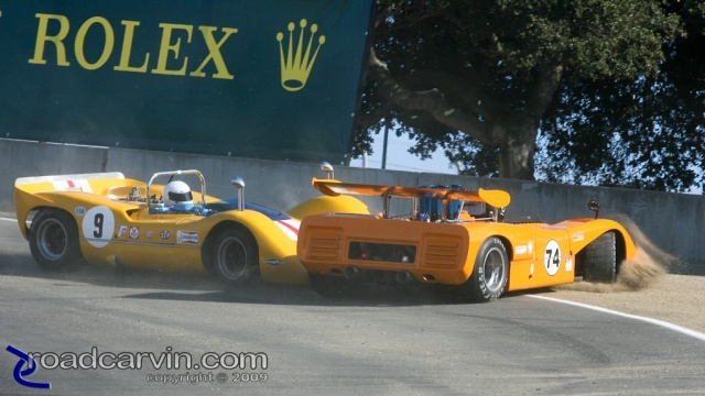 2008  Rolex Monterey Historic Races - McLaren Crash