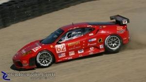 2008 Monterey Sports Car Championships - Melo/ Salo Ferrari - Turn 8 (I)
