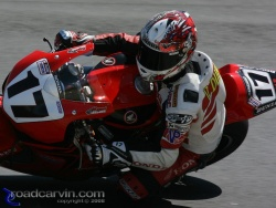 2008 AMA Test - Miguel Duhamel Turn 8