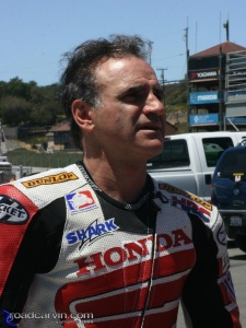 2008 AMA Test - Miguel Duhamel - Paddock
