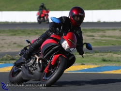 2008 Buell Inside Pass - Infineon - 2009 1125CR Exiting Chicane