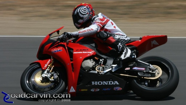 2008 AMA Test - Neil Hodgson Turn 3
