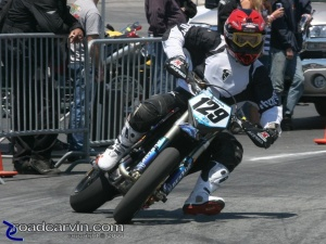 2008 AMA Test - Supermoto USA - Nice Slide
