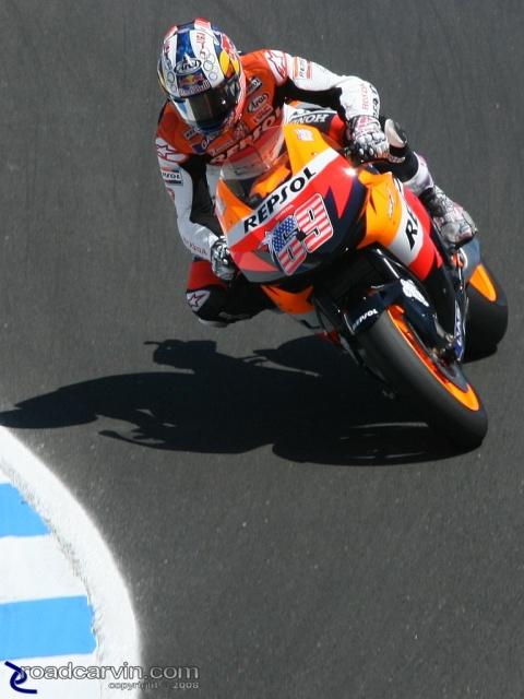 2008 MotoGP -Nicky Hayden - Corkscrew