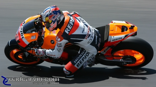 2008 MotoGP - Nicky Hayden - Friday Practice