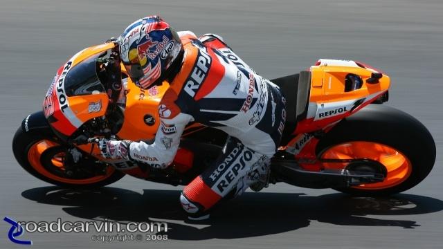 2008 MotoGP - Nicky Hayden - Friday Practice