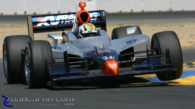 2008 Sonoma Grand Prix - Oriol Servia - Chicane