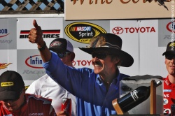 2009 NASCAR - Infineon Raceway - Richard Petty