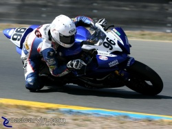 2009 Infineon AMA - SuperSport - Ricky Parker Turn 10
