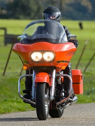 2009 Harley-Davidson Road Glide - Front View