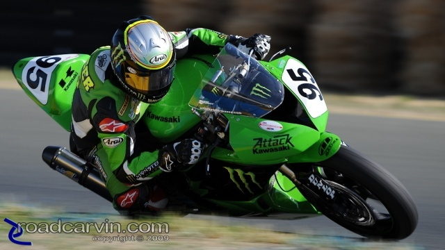 2009 Infineon AMA - Daytona SportBike - Roger Hayden - Turn 10