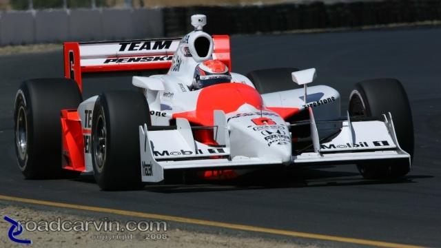 2008 Sonoma Grand Prix - Ryan Briscoe - Chicane Exit