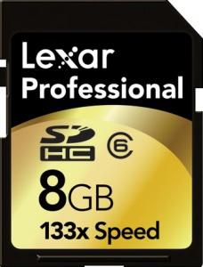 Lexar Professional  - SDHC 8GB