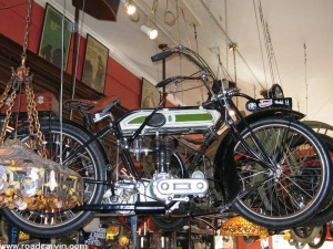 1919 Triumph motorcycle