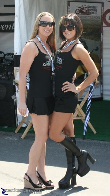 2008 MotoGP - SMR Girls - Strike a Pose
