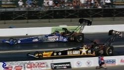 2008 Infineon NHRA - Tony Schumacher & Antron Brown