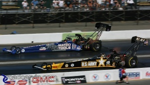2008 Infineon NHRA - Tony Schumacher & Antron Brown