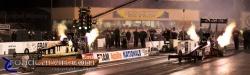 2009 Fram Autolite NHRA Nationals - Schumacher vs Dixon