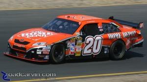 2008 NASCAR - Infineon Raceway - Tony Stewart Turn 3