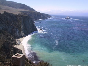 South from Bixby Bridge