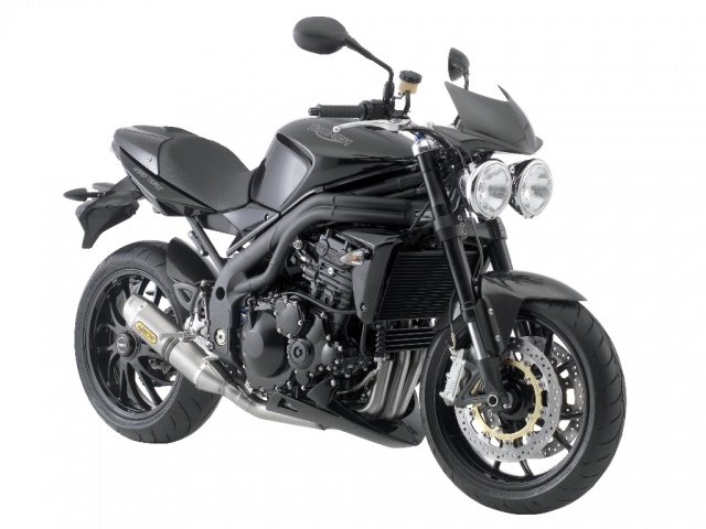 2008 Triumph Speed Triple - Jet Black