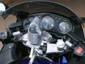 SportBikeCam Front Mount - Mounted 3