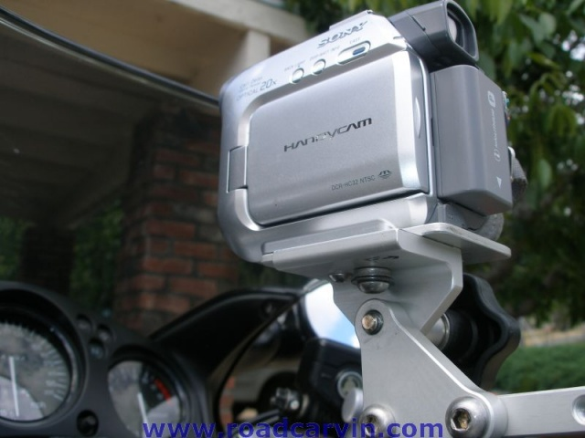 SportBikeCam Front Camera Mount - Mounted (4)