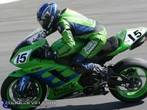 2008 AMA Test - Steve Rapp Turn 8