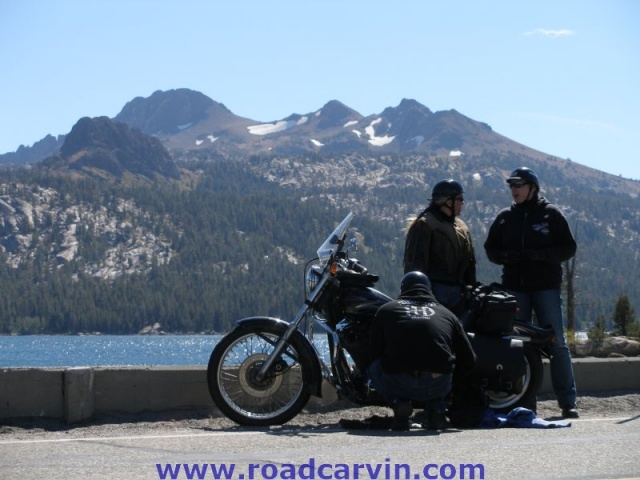 Street Vibrations - Caples Lake, Highway 88