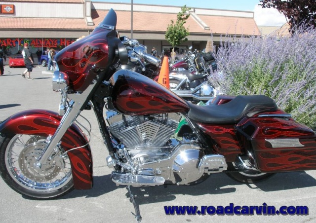 Street Vibrations - Wild Customs - Carson City Harley-Davidson - Flame Job