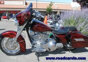 Street Vibrations - Wild Customs - Carson City Harley-Davidson - Flame Job