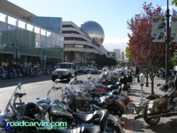 Street Vibrations - Harleys as far as the eye can see