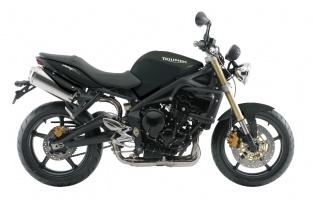 2008 Triumph Street Triple - Jet Black