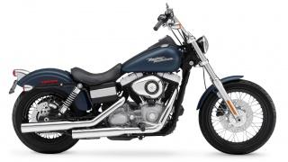 2009 Harley-Davidson - FXDB Dyna Street Bob: 2009 Harley-Davidson Street Bob in Dark Blue Denim.