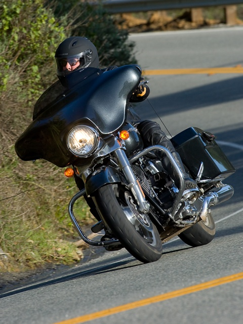 2009 Harley-Davidson Street Glide - Big Sur - Front
