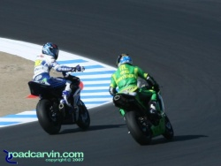 2007 Red Bull U.S. Grand Prix - MotoGP Saturday - The Supersport Winner