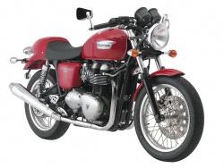 2008 Triumph Thruxton - Tornado Red/White