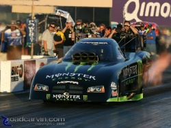 2008 Infineon NHRA - Tommy Johnson Launch