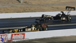 2008 Infineon NHRA - Tony Schumacher vs Hillary Will