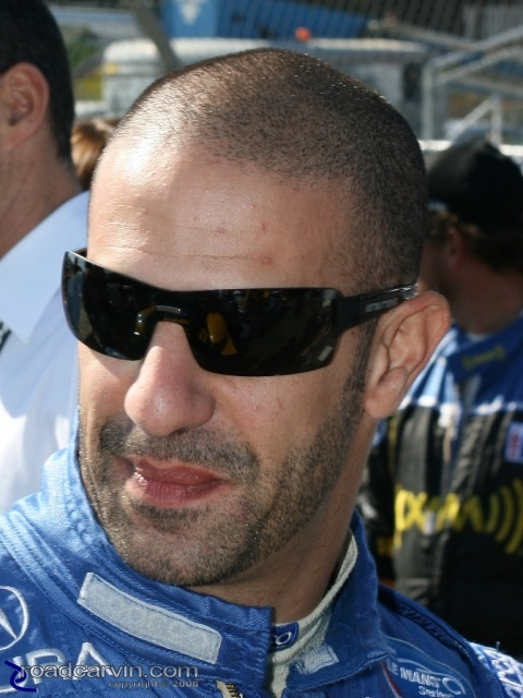 2008 Monterey Sports Car Championships - Tony Kanaan - Portrait