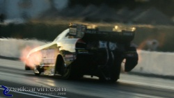 2008 Infineon NHRA - Tony Pedregon - Sound, Fire and Boiling Air