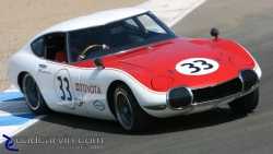 2008  Rolex Monterey Historic Races - Toyota GT 2000 Spin-out