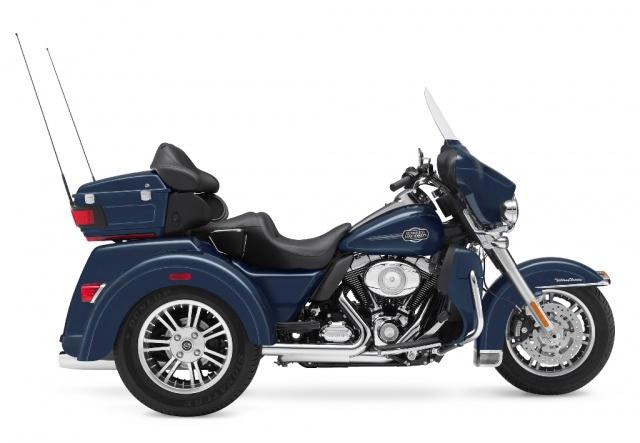 2009 Harley-Davidson - FLHTCUTG Tri Glide Ultra Classic- Side View